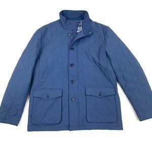 UNTUCKit Woodcrest Quilted Zip Nylon Jacket Sz L